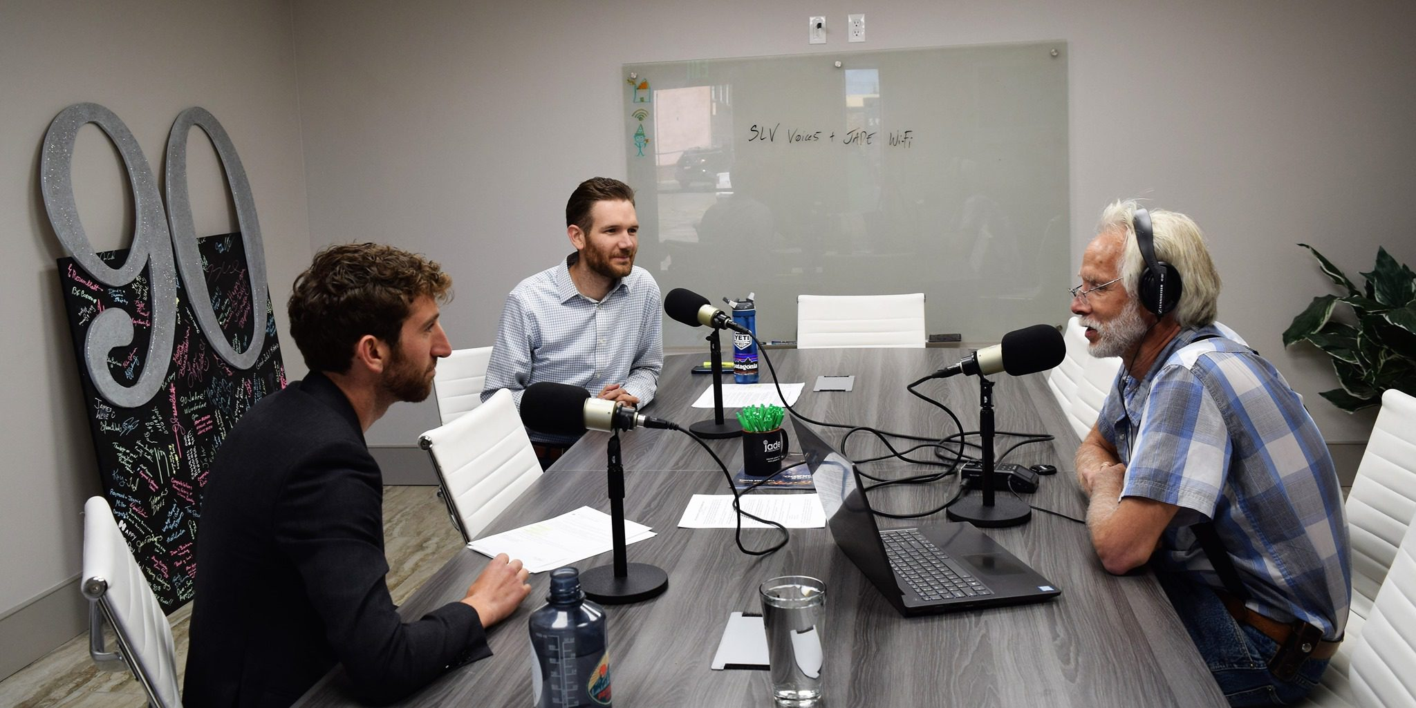 SLV Voices Interviews Jordan Wehe and Josh Wehe at Jade Communications about Jade Wi-Fi